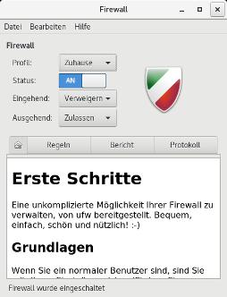Benutzer freundliche Firewall