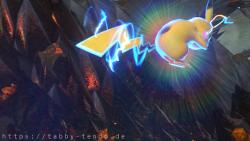 Tabby & Chu in Pokémon Tekken DX: Einer unter der Sonne.